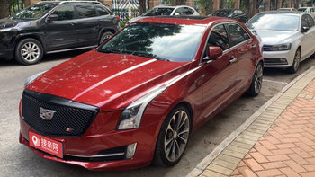 凯迪拉克ATS-L婚车 (酒红色,可做头车)