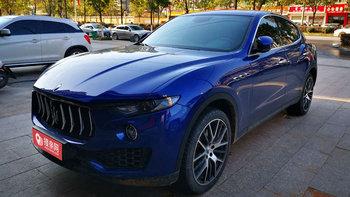 玛莎拉蒂Levante婚车 (蓝色,可做头车)