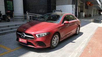 奔驰A级婚车 (红色,可做头车)