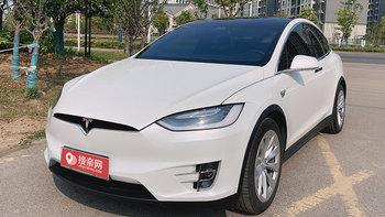 特斯拉MODEL X婚车 (白色,可做头车)