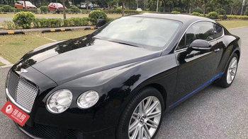宾利欧陆婚车 (黑色,可做头车)