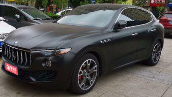 玛莎拉蒂Levante婚车 (黑色,可做头车)