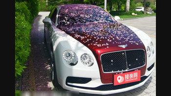 宾利飞驰婚车 (白色,可做头车)