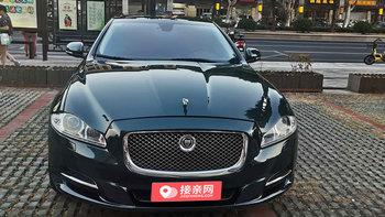 捷豹XJL婚车 (墨绿色,可做头车)
