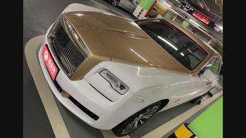 劳斯莱斯古思特婚车 (香槟色,可做头车)