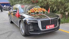 杭州红旗H9婚车租赁