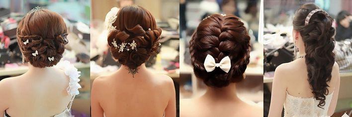 新娘发型大搜罗