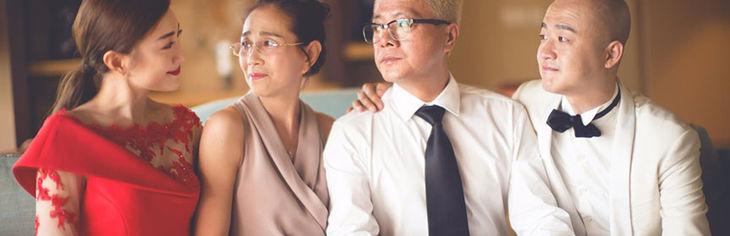 婚礼父母装扮推荐